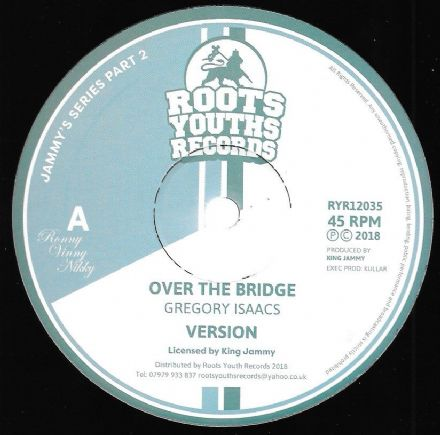 Gregory Isaacs - Over The Bridge / version / Let's Go Dancing / version (Roots Youths) 12""